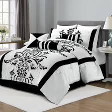 red black and white comforter sets striped bedspreads fl pattern bedding set best comforter bedroom