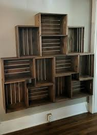 Best 25+ Crate Shelving Ideas On Pinterest Wood Crate Shelves - HD  Wallpapers
