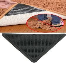cool anti slip rug grip tape of 4 rug carpet grippers corners anti skid mat washable tape