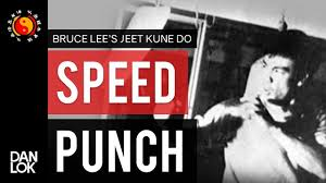 Bruce Lees Speed Punching Exercise Punching Paper