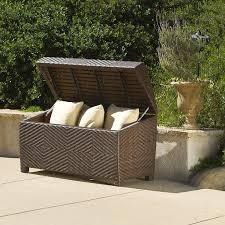 outdoor garden furniture com deck storage bowaterproof patio furniture storage