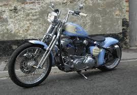 xl sportster chopper bobber evo hardtail rigid frame offset pulley