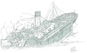 Small Picture Titanic Coloring Pages Printable Elioleracom