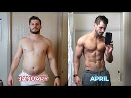 time lapse video shows man s incredible 12 week transformation as he loses 42lb and gains a six pack