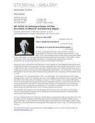 Media Advisory Media Advisory George Maciunas Foundation Inc
