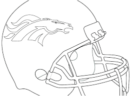 Denver Broncos Coloring Pages Czltn Me Football Chronicles Network