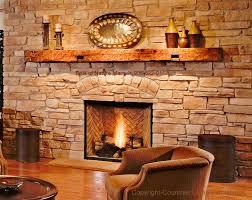 reclaimed wood fireplace mantel illinois wisconsin