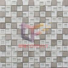 wood grain marble mix plastic frame glass inside mosaic csr086