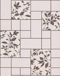 Modern Wallpaper For Kitchen Wallpaper Kitchen Bath Wall Covering Vinyl Modern Tile Floral