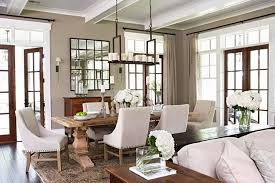 traditional elegance mi with a hint of rustic charm in this large dining room set into