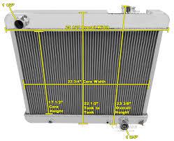 1964 65 oldsmobile f85 radiator shroud 16 034 fan relay amp click thumbnails to enlarge