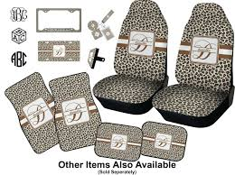 leopard toddler car seat print covers front license plate personalized baby n large to