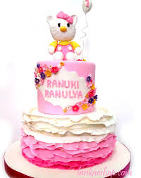 Hello Kitty 1st Birthday Cake 6lb Sri Lanka Online Shopping Site