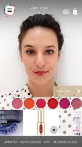 photo de l oréal makeup genius l appli pour essayer du maquillage