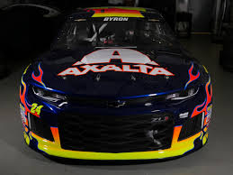 2018 chevrolet for nascar. interesting chevrolet william byron 2018 nascar camaro in chevrolet for nascar