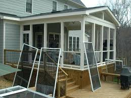 screen porch blinds how to build a screened patio room party enclosed porch kits plan large outdoor solar screen blinds