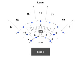 Midflorida Credit Union Amphitheatre Seating Chart With Seat Numbers The Doobie Brothers Michael Mcdonald At Midflorida Credit