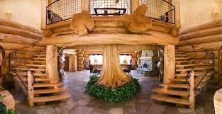 10 Impressive Log Cabin Interior Designs For Your Home