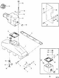 mercruiser 502 mag mpi bravo gen vi gm 502 v 8 exhaust engine section