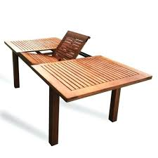luxo montague timber extendable outdoor dining table in 2018 zen extendable patio dining table extendable patio