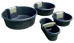 plastic troughs
