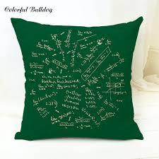 Decorative Pillow Home Car Seat Mathematics Science Biological ...