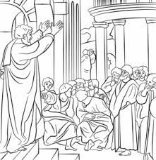 Apostle Paul Coloring Pages For Kids Archives Best Free Coloring