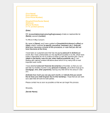 Letter Template For Word Hardship Letter Template 10 For Word Pdf Format