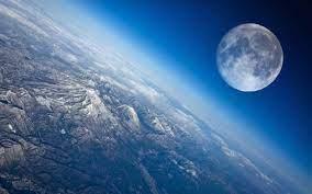 Earth, Planet, Moon, Mountain ...