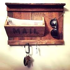 wall mail holder mounted organizers home hanging letter in india