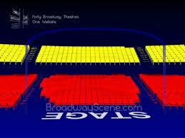 Live Nation 3d Seating Chart Stephen Sondheim Theatre Interactive Broadway Seating Chart