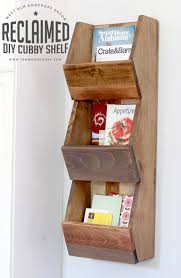 diy furniture west elm knock. How To Build A DIY West Elm-inspired Reclaimed Cubby Shelf Diy Furniture Elm Knock