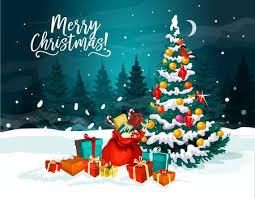 <b>Cartoon Christmas</b> Tree Stock Photos And Images - 123RF
