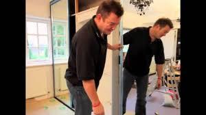 Sliding Mirror Wardrobe Door Installation - YouTube