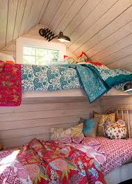 shabby chic bed linen kids traditional with custom window treatments mixed prints kid s play house
