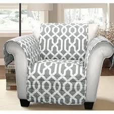 Lush Decor Edward Trellis Armchair Furniture Protector Slipcover