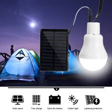 110lm Zonne Energie Led Lamp Camping Wandelen Noodverlichting