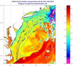 Sea Surface Temperature Visual Ocean