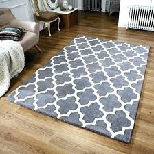 grey teal and white rug lovely gray hand tufted yellow