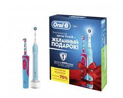 <b>Набор электрических зубных щеток</b> Braun Oral-B Family Pack ...