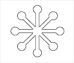 Blank Snowflake Template 17 Snowflake Stencil Template Free Printable Word Pdf