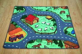 kid road rugs farm yard children s rug kid animal village road play mat home bar kid road rugs