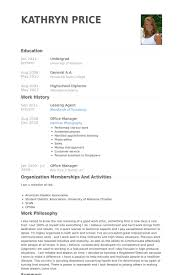 Leasing Agent Resume Samples VisualCV Resume Samples Database Mesmerizing Leasing Agent Resume