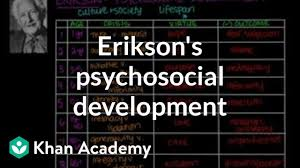 Eriksons Stages Of Psychosocial Development Video Khan