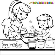 Small Picture Homey Design Cooking Coloring Page Cooking Pages exprimartdesigncom