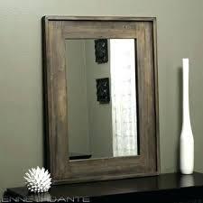 rustic wood mirror frame. Simple Frame Rustic Wood Mirror Frame Wall Best Framed  Products On Within Throughout Rustic Wood Mirror Frame M