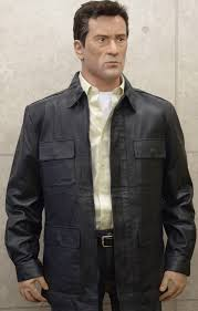Movie Midnight Run Jack Walsh Black leather Jacket