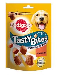 <b>Pedigree Лакомство</b> для собак <b>Tasty Bites</b> ароматные кусочки с ...