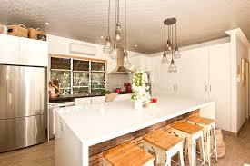 breakfast bar lighting ideas. Island Bar Lighting Breakfast Ideas Kitchen Eclectic With Timber Jalousie Windows Pendant Lights G
