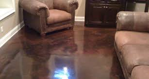 stained concrete diy stain staining